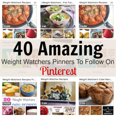 40 Amazing Weight Watcher Pinners To Follow On Pinterest
