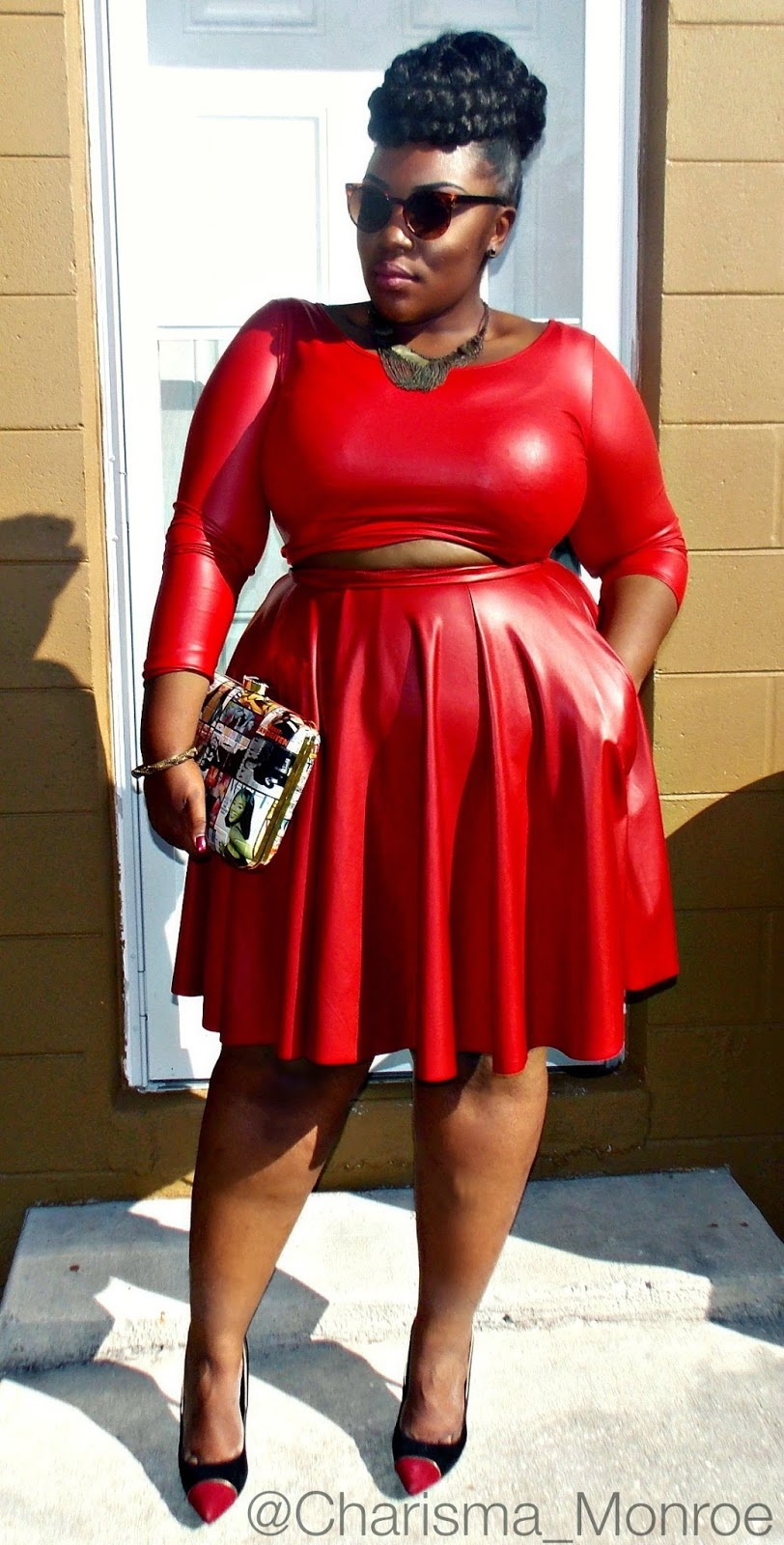 Black, White, & Red All Over: Take 3 feat  Curvaceous Boutique