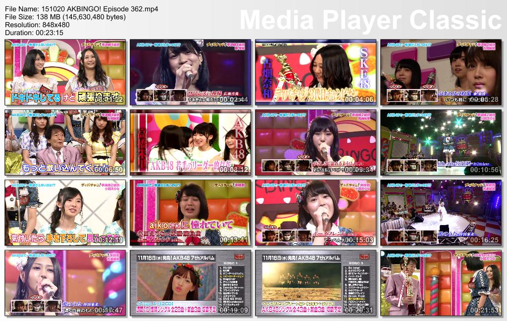 ikura48-sub: AKBingo! episode 362 english subtitle
