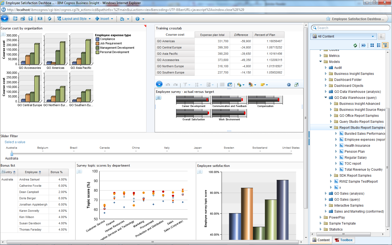 Software download: ibm cognos | element61.