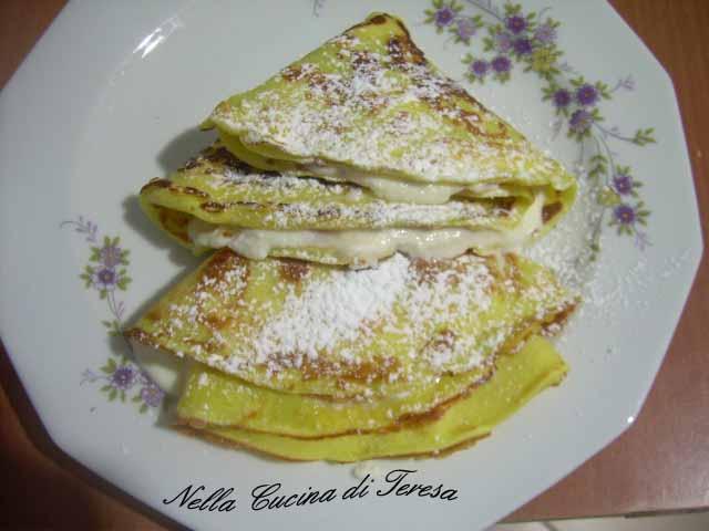 Nella cucina di teresa crepes con ricotta e miele d 39 arancio - Nella cucina di teresa ...