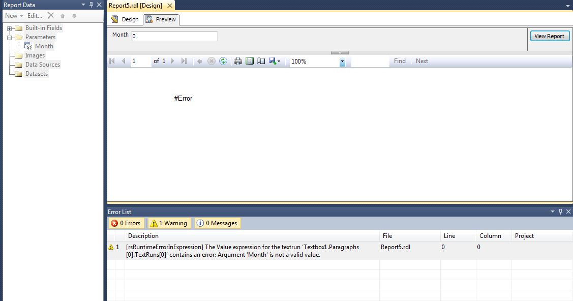 All about SQLServer: SSRS - [rsRuntimeErrorInExpression] The Value
