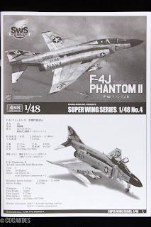 F-4J Phantom II Zoukei Mura Notice 1/3