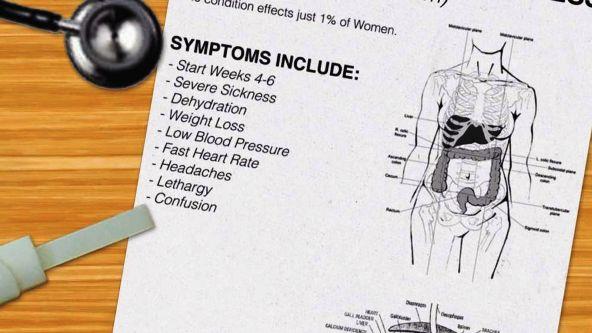 Symptoms of Hyperemesis Gravidarum