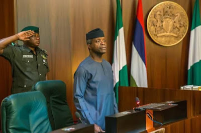 Acting president, Yemi Osinbajo, orders release of N1.6bn to 16 states affected by flood