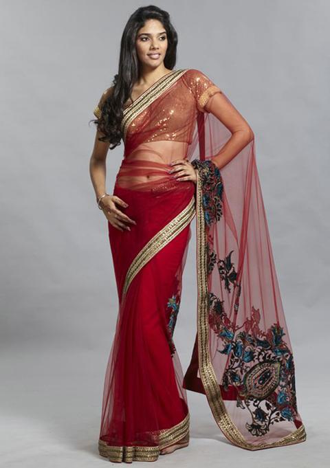 Baju Sari India Tanah Abang