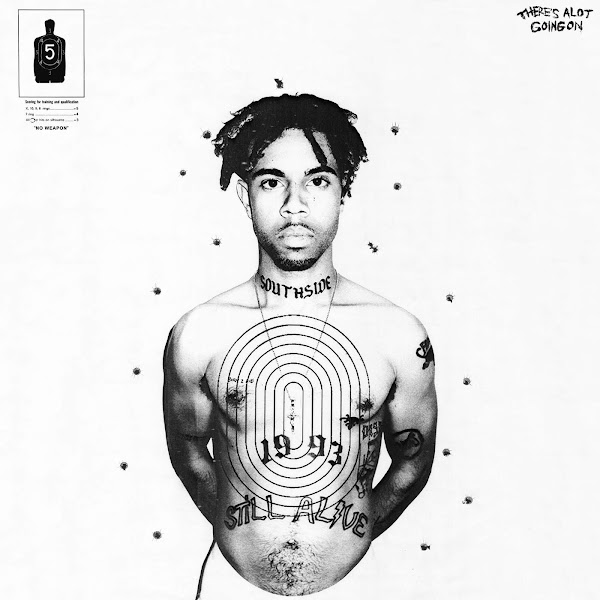 Vic Mensa - There's Alot Going On Cover
