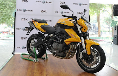 Benelli TNT 600i ABS in auto show image