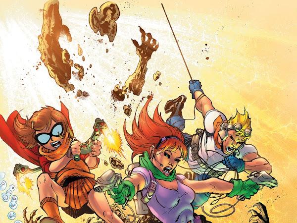 DC Comics lança nos EUA HQs com releituras de clássicos da Hanna-Barbera: Scooby Apocalypse, Future Quest, Wacky Raceland e The Flintstones