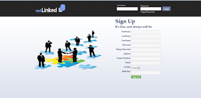 NEtlinked : Social Networking Site (PHP)