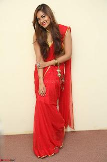 Actress Ashwini in Golden choli Red saree Spicy Pics ~  034.JPG