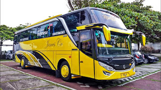 Sewa Bus Pariwisata SHD James Co 2019