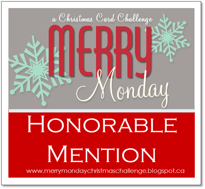 Merry Monday Card Challenge