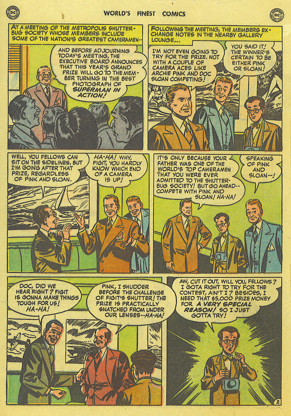 Read online World's Finest Comics comic -  Issue #49 - 4