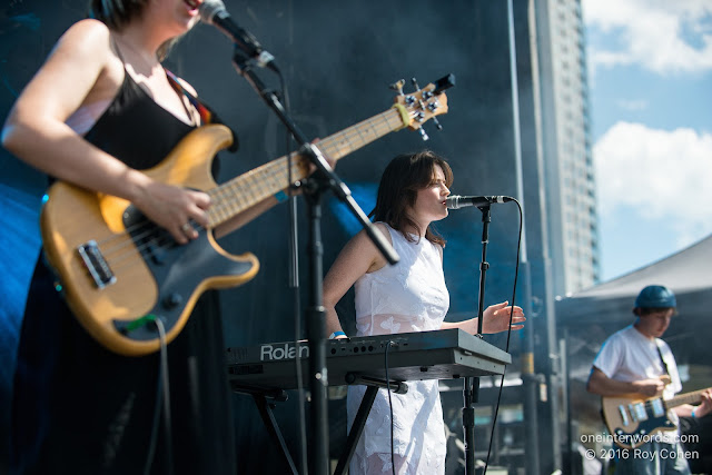 Tops at Time Festival, August 6, 2016 Photo by Roy Cohen for One In Ten Words oneintenwords.com toronto indie alternative live music blog concert photography pictures