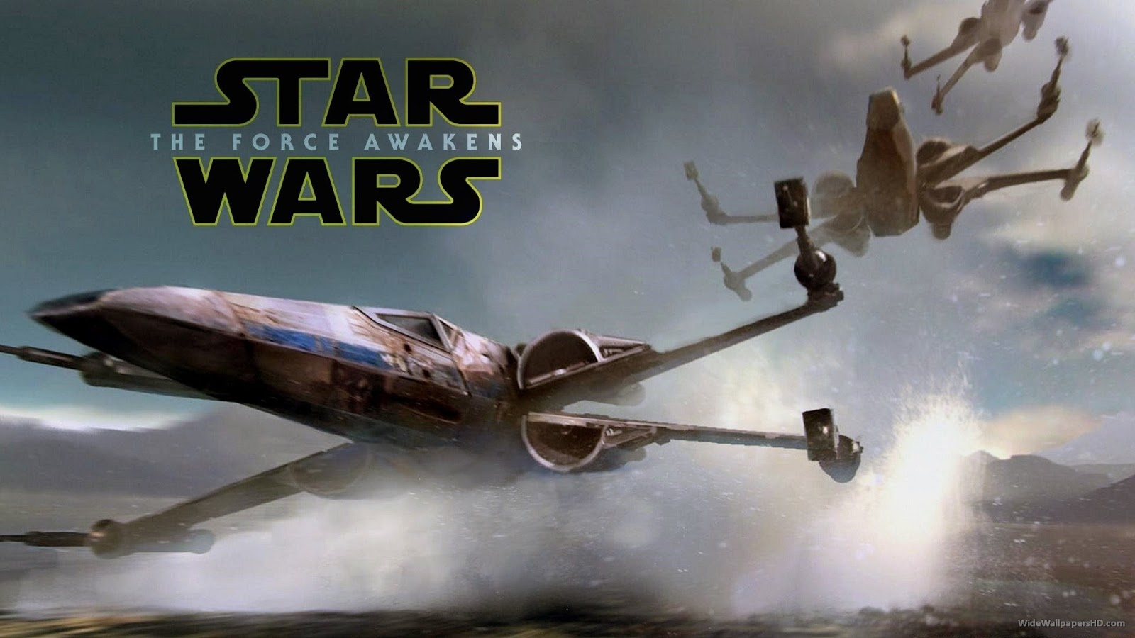 The Force awakens wallpaper iphone