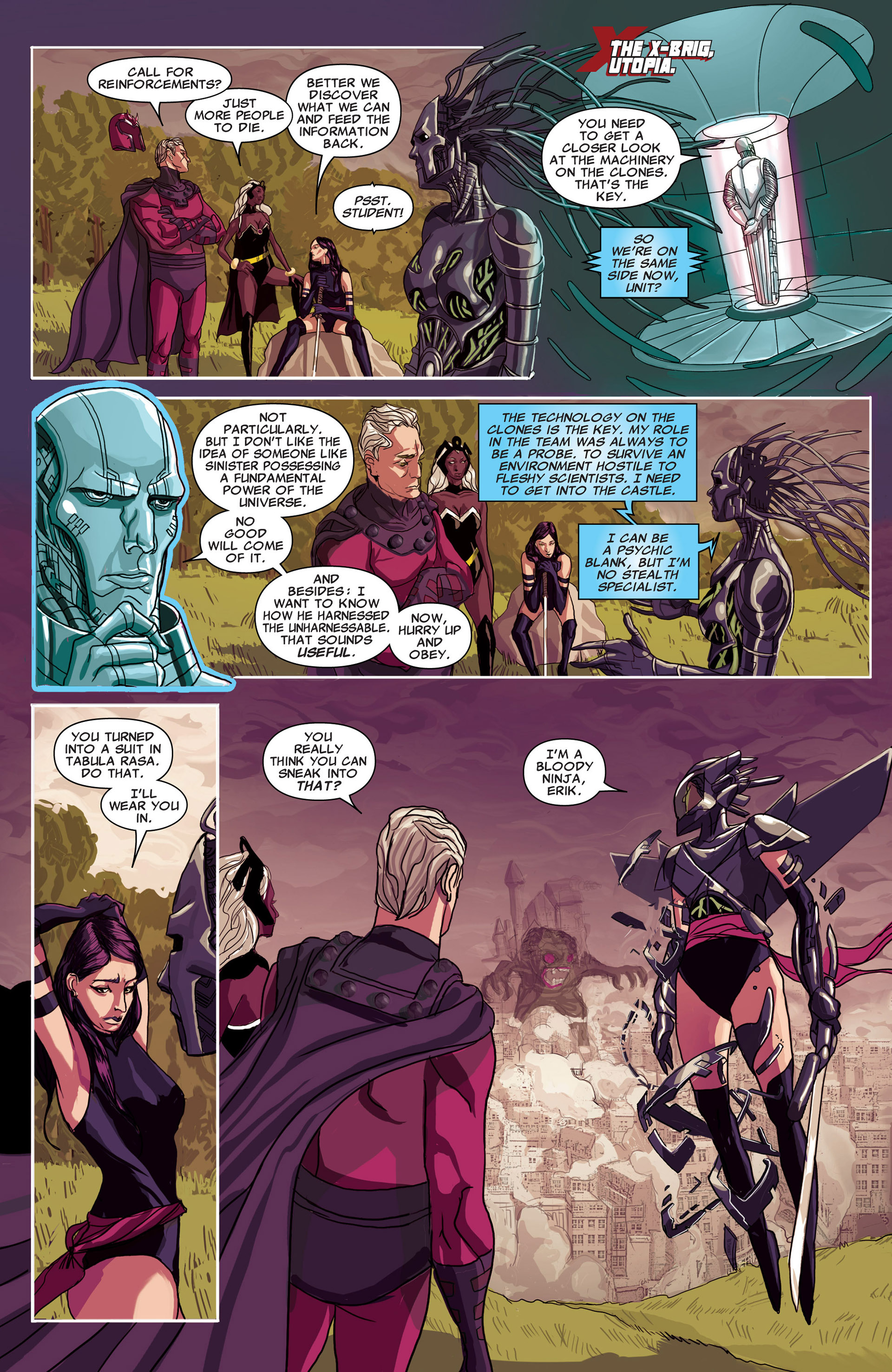 Read online Uncanny X-Men (2012) comic -  Issue #17 - 7