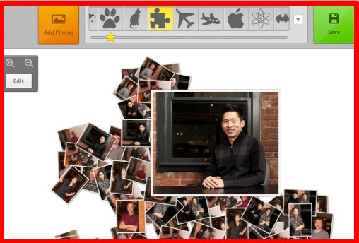 how to make a picture collage on facebook