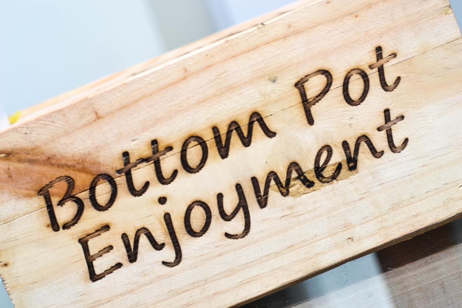 Maggi Bottom Pot Enjoyment
