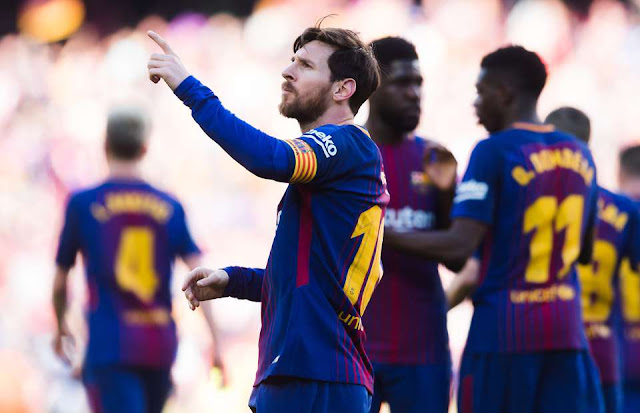 Lionel Messi did something nobody expected after scoring v Athletic Bilbao