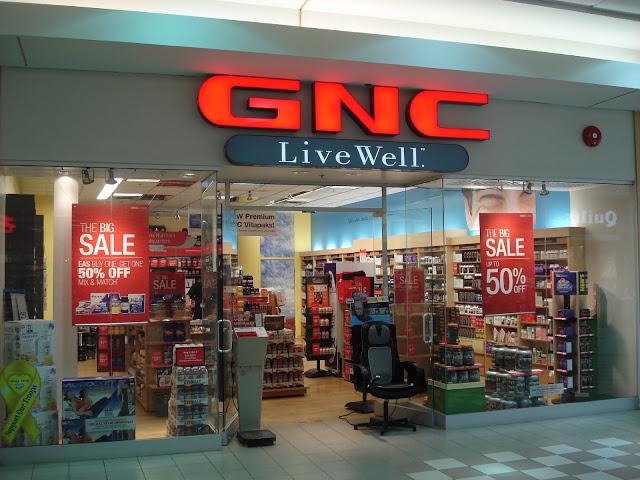 Tienda de suplementos alimenticios GNC