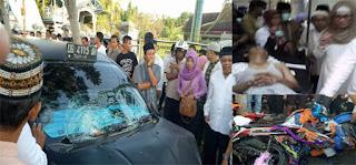 Perserta Pawai 1 Muharam Ditabrak Mobil, Lima Warga Gorontalo Kritis/ist