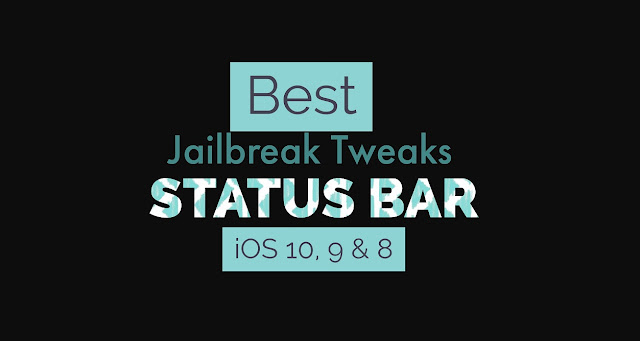 Want some best Status Bar tweaks for iOS 10 ? Here i have listed some top best Cydia Tweaks for Status Bar for iOS 10, 9, 8 and 7 which works perfectly fine.