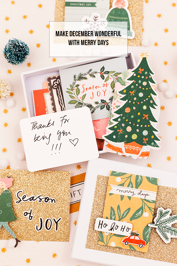 Crate Paper | Happy Notes in December | Merry Days INSTASTORY_f