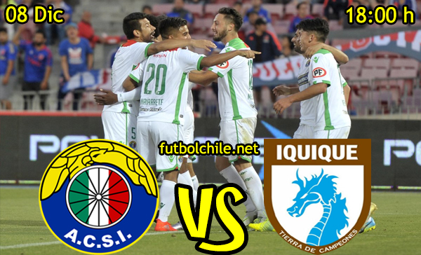 Ver stream hd youtube facebook movil android ios iphone table ipad windows mac linux resultado en vivo, online: Audax Italiano vs Deportes Iquique