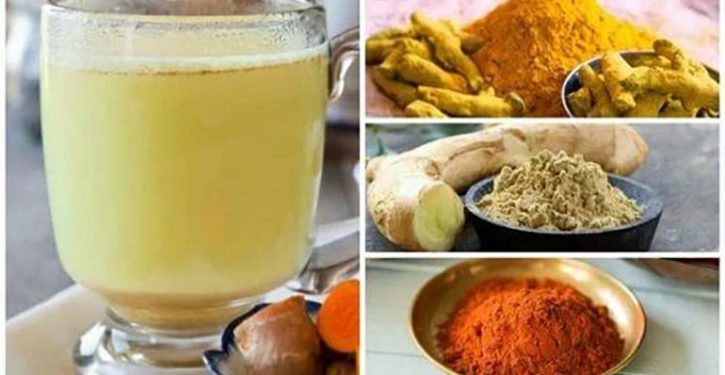The Recipe Of The Famous Ginger Tea And Turmeric To Lose Weight