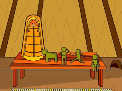 Find the Escape-Men 171 Ancient Pit Dwelling Solucion