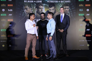 ONE: HEROES OF HONOR in Manila with Press Conference