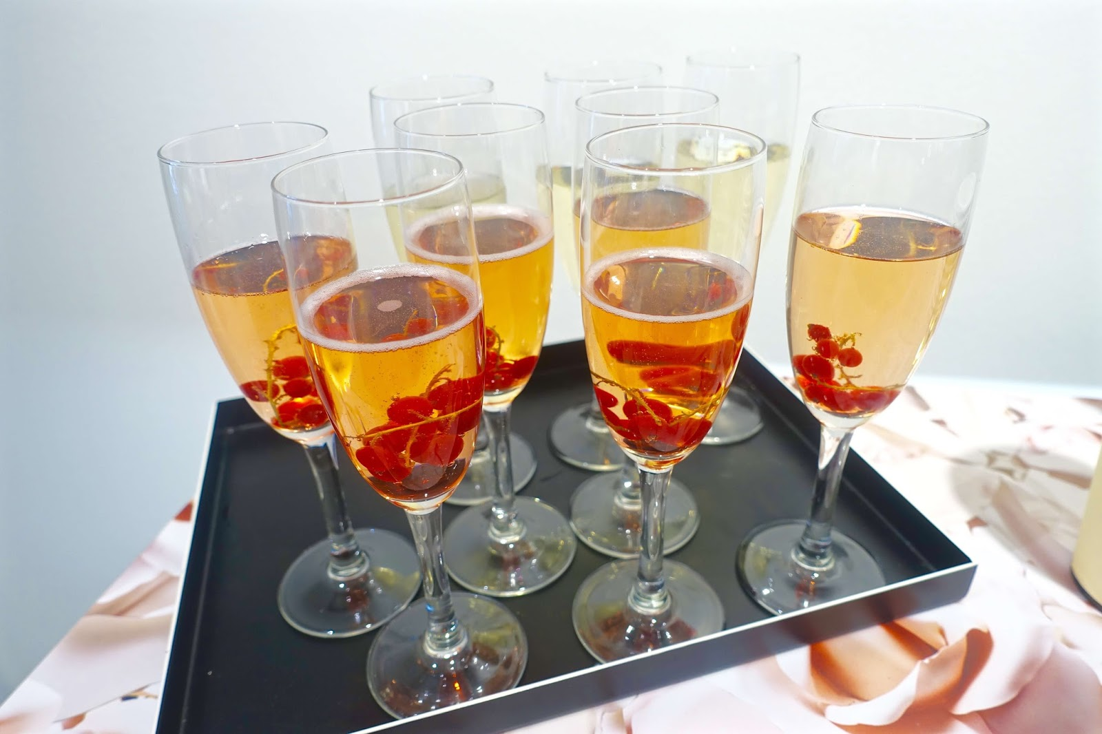 autumnal fizz and berries