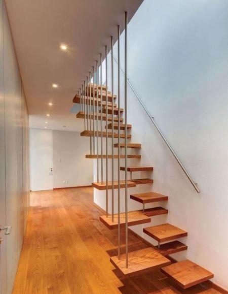 Bentuk tangga rumah minimalis yang unik