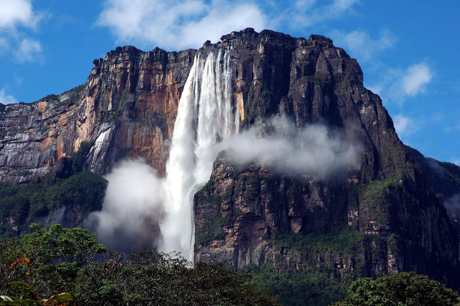 Venezuela: El Parque Nacional Canaima se ve afectado por actividad minera  ilegal