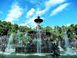 Fuente de Los Continentes - Parque General San Martín, Mendoza