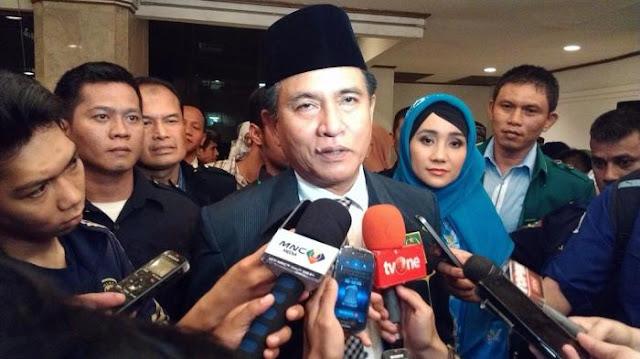 Yusril Tegaskan Tidak Masuk TKN Jokowi