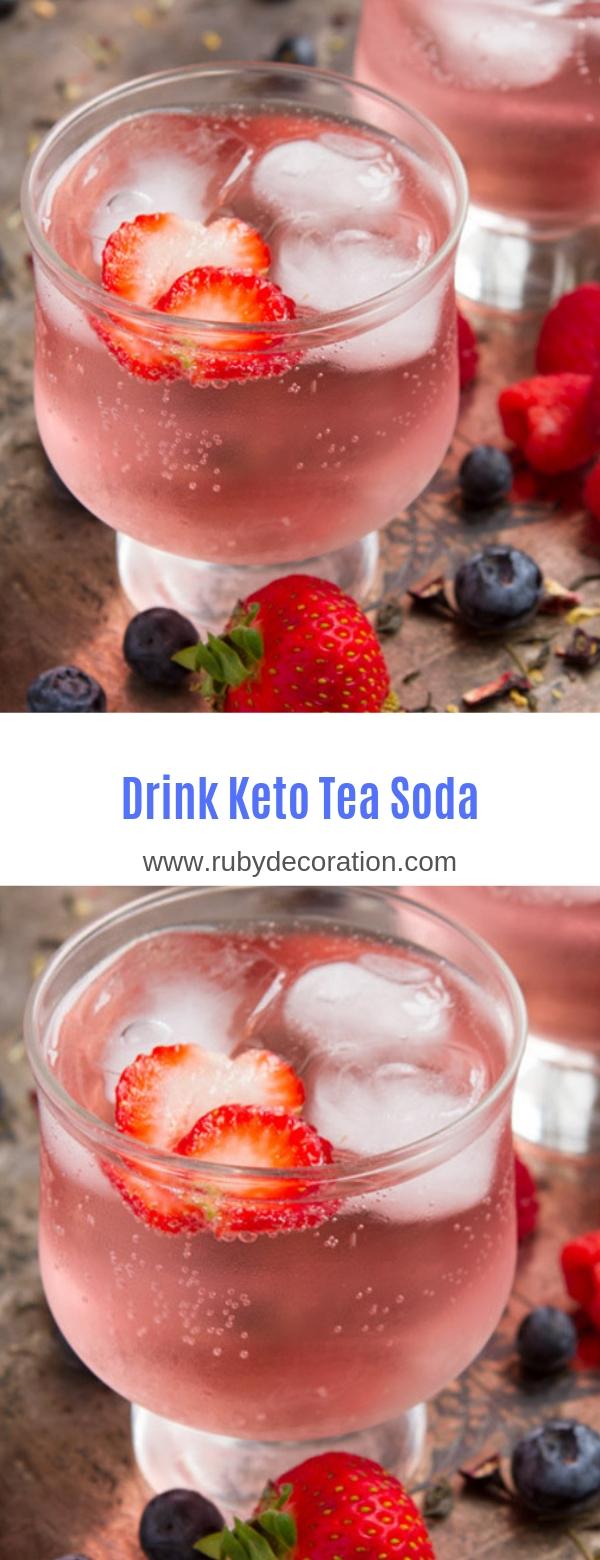 Keto Tea Soda