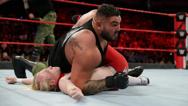 WWE RAW AOP def. Ronnie Ace & Nathan Bradley