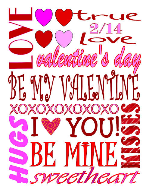 8 Different Valentine's Day Subway Art Printables   Mom On Timeout