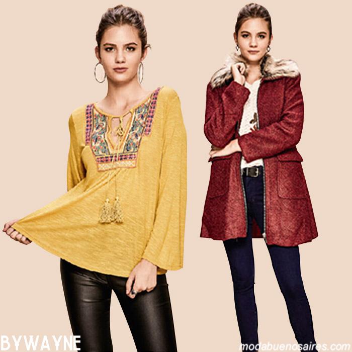 Blusas y túnicas otoño invierno 2019. Moda invierno 2019.