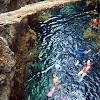 Gua Haji Mangku di Pedalaman  Pulau Maratua