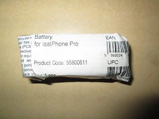 baterai hape satelit Inmarsat