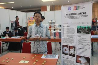 9. Abdullah Nabil Alhabib dari SMA N 54 Jakarta denga judul karya Media Belajar Math (MC54) untuk Peningkatan Pemahaman Konsep Fungsi Kuadrat, logaritma dan Trigonometri pada Siswa SMA Negeri 54 Jakarta