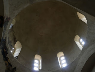 The domed roof, a beautiful space