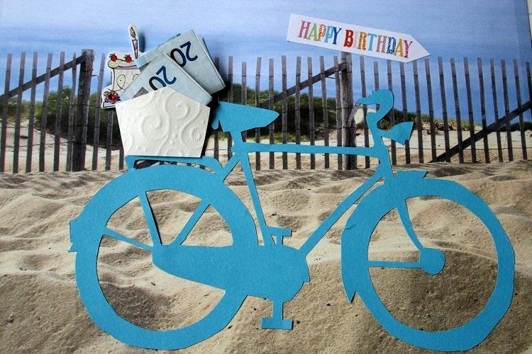 Stine Stitch Geburtstagskarte
