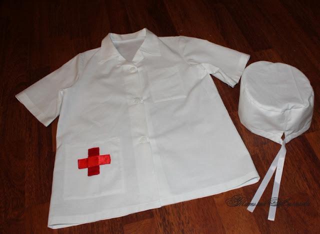 Médico y enfermera, disfraz infantil