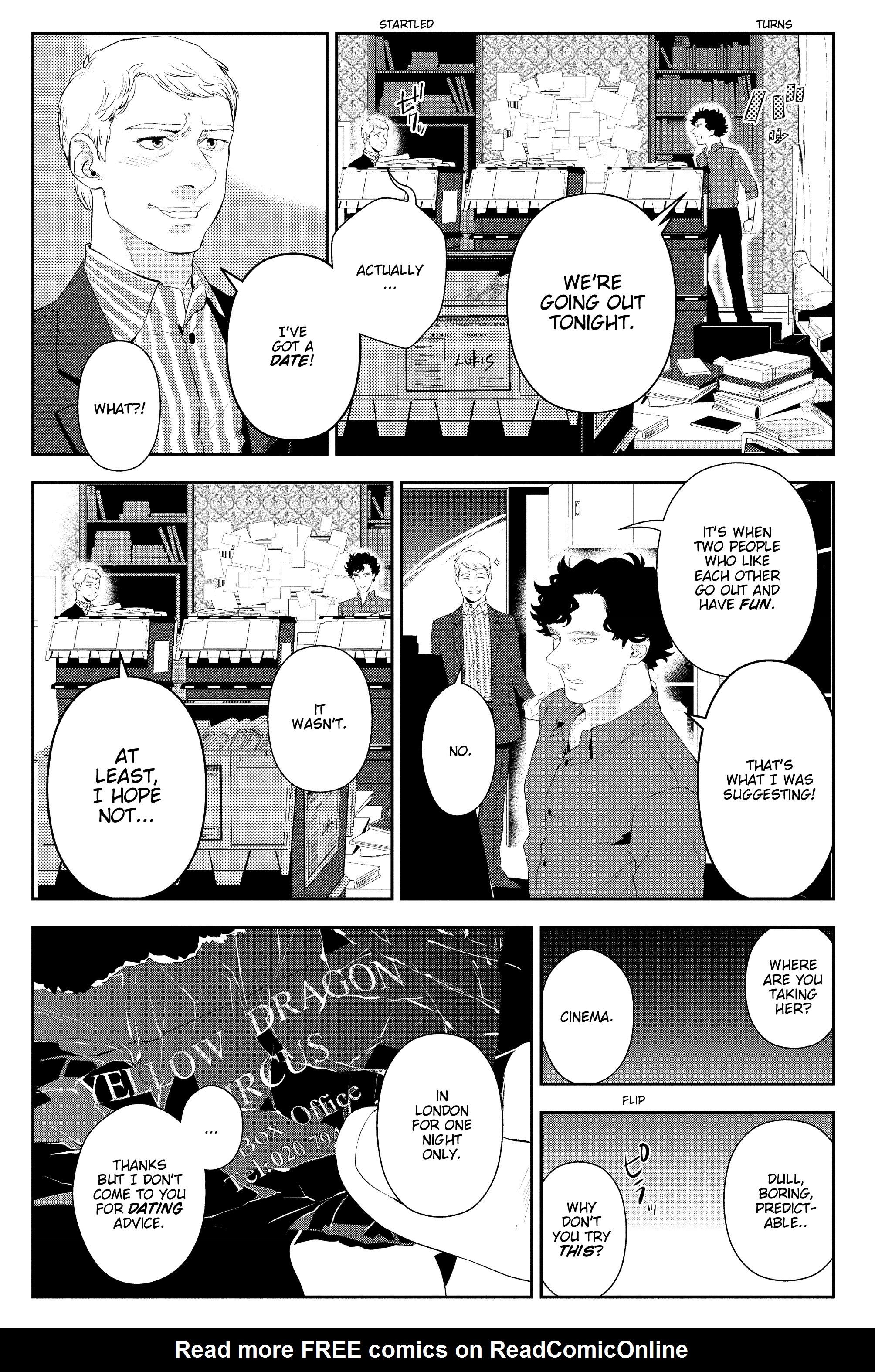 Read online Sherlock: The Blind Banker comic -  Issue #5 - 14