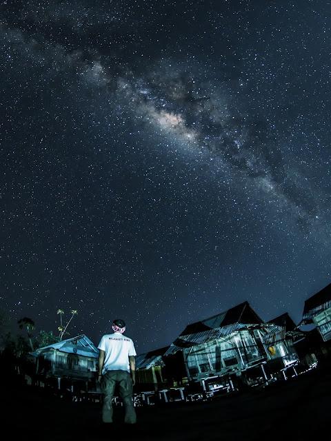 Milky Way di Komplek Uma Lengge
