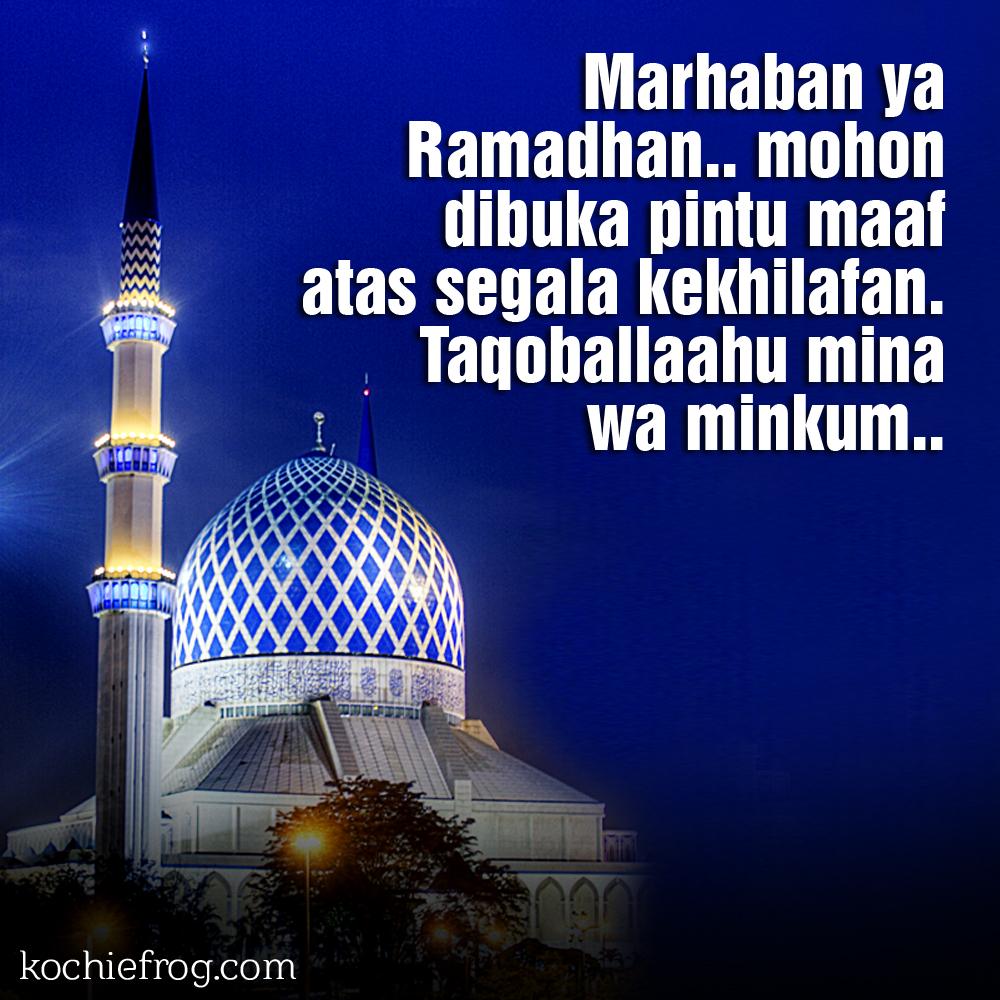 Gambar Ucapan Maaf Menyambut Ramadhan